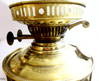 Duplex Brass Paraffin Lamp